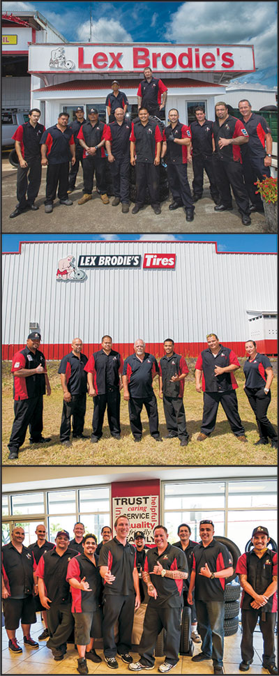 Lex Brodie's Tires Wins Award for Best Tire Store on Big Island