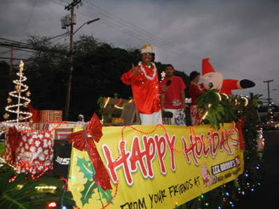 THE KEAAU CHRISTMAS LIGHTED PARADE